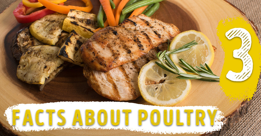 3 FACTS ABOUT POULTRY