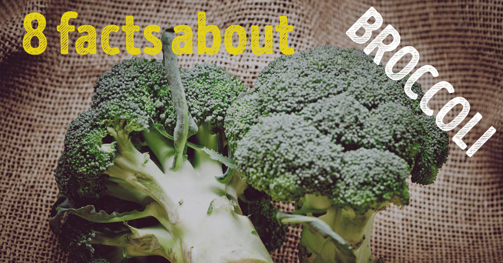 8 facts about BROCCOLI