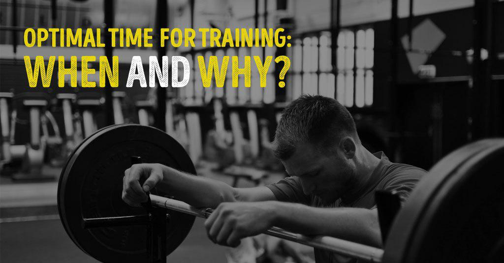 OPTIMAL TIME FOR TRAINING: WHEN AND WHY?