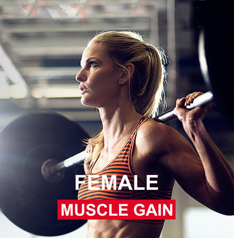 NUTRITION - FEMALE muscle gain