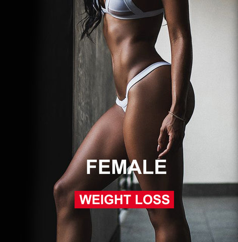 NUTRITION - FEMALE weight loss (-30%)