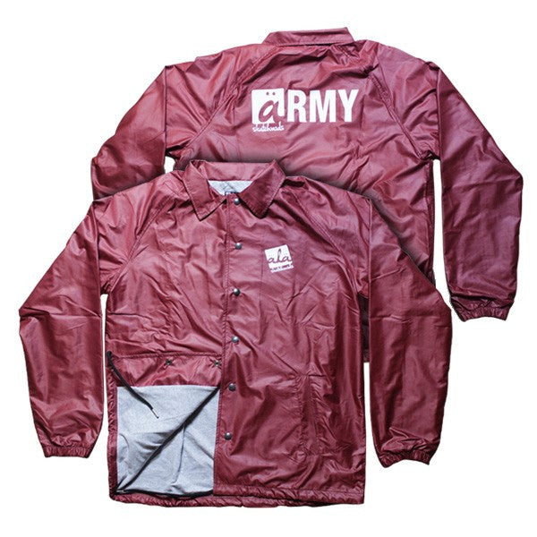 Ala Skateboards - Coach Jacket (Red) - Mobu