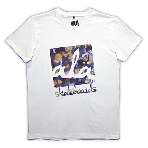 Ala Skateboards - Logo Abstraction Tshirt (White) - Mobu