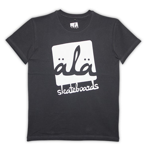 Ala Skateboards - Logo Tshirt (Black) - Mobu