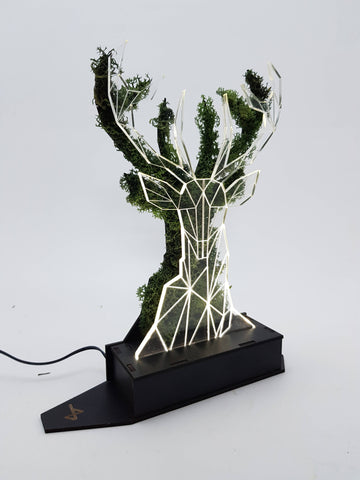 Deer Moss Lamp - Mobu