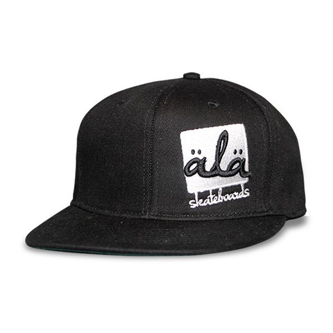 Ala Skateboards - Logo Hat (Black) - Mobu