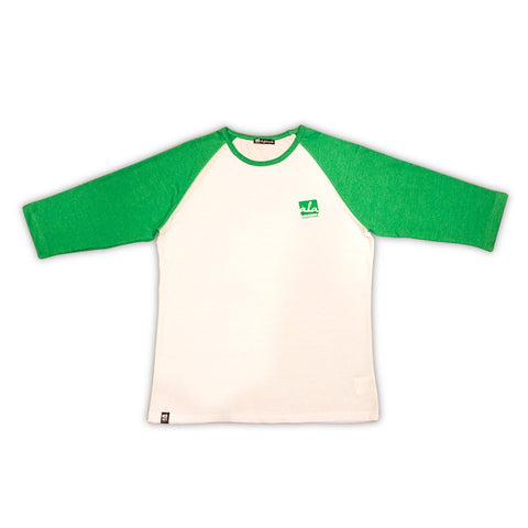 Ala Skateboards - Anti Fashion Raglan (Green) - Mobu