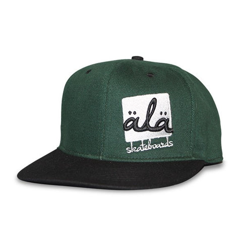 Ala Skateboards - Logo Hat (Green) - Mobu