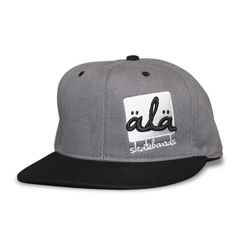 Ala Skateboards - Logo Hat (Grey) - Mobu