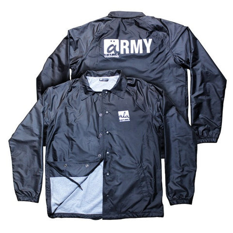 Ala Skateboards - Coach Jacket (Black) - Mobu