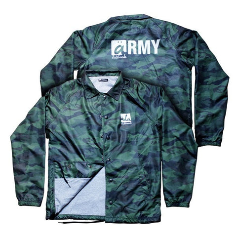 Ala Skateboards - Coach Jacket (Camouflage) - Mobu