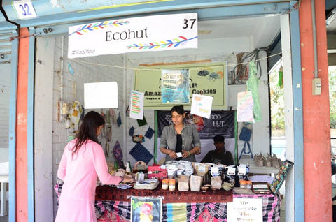 Ecohut stall at Environment Fest 2017