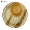 A set of 10 - areca round plate 10 inch + bowl biodegradable compostable microwawe & freezer safe