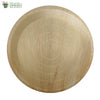 Biodegradable Compostable Areca Round Plate table ware Microwave & Freezer safe 12 inch  (Set of 25)