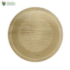 Biodegradable Areca Round Plate table ware Microwave & Freezer safe 8 inch  (Set of 25)