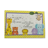 Recycled Plantable Paper Kids Birthday Invitation Cards with Cover 6 x 6 inches (100 Cards)