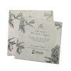 Recycled Plantable Paper Square Invitation Cards 5 inches x 5 inches (100 Cards)