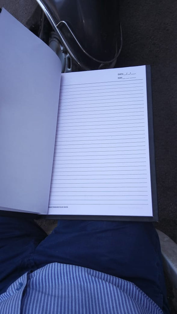 2019 Corporate Diary - Made up of Recycled Paper - with Company Logo &  Branding
