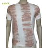 Organic herbal dyed men's T shirt (Tie n dye) half sleeve round neck