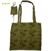 Organic herbal dyed jolla bag sand berry print with cover