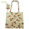 Organic herbal dyed jolla bag coube flower print with cover