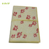 Organic herbal dyed file folder printed
