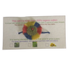 100% Organic Plantable Rakhi with Bhindi seeds Herbal Coloured Zero Chemical Touch Blue Yellow Red Green with blue band
