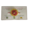 100% Organic Plantable Rakhi with surati papadi seeds Herbal Coloured Zero Chemical Touch Red & Yellow with red band