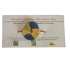 100% Organic Plantable Rakhi with ladies finger seeds Herbal Coloured Zero Chemical Touch blue & yellow colour red band