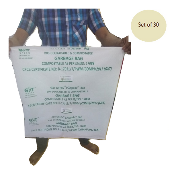 cff4c0e33e Biodegradable Compostable IS 17088 certified non polluting garbage bags -  19