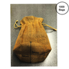 Jute Burlap Drawstring Bag - Set of 1000 bags