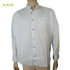 Organic herbal Yarn dyed men's shirt (Ross Chinese) full sleeve