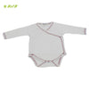 Organic herbal dyed baby onsie full sleeve