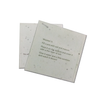 Recycled Plantable Paper Product Labeling Cards 10 x 10 cms (500 Cards)