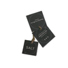 Recycled Plantable Black Paper Product Tag Cards 5 x 5 cms (500 cards with sutli string)