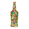 FlowerFull - Upcycled Glass Bottle Art Work