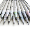 Recycled News Paper Pencil Set of 10