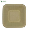Biodegradable Compostable Sugarcane Bagasse Square bowl table ware 4 inch  (Set of 25)