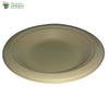 Biodegradable Compostable Sugarcane Bagasse Round Plate 6 inch  (Set of 25)