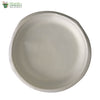 Biodegradable Compostable Sugarcane Bagasse Round Plate 10 inch  (Set of 25)