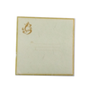 Recycled Plantable Paper Wedding Square Invitation Cards 7.25 x 7.25 inches(100 Cards)