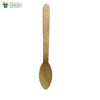 Biodegradable Compostable small spoon wooden (Set of 25)