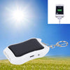 1200mAH Solar Keychain Charger Mobile Power Supply Battery Power Bank