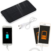 12000mah Dual USB Portable Solar Power Bank, Phone Stand Holder, Backup Battery for cellphones