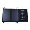 Dustproof Waterproof Camping Travel Solar Panel USB Charging Foldable, Bag For Phones