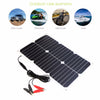 18V18W USB DC 6 Solar panels charger Ports Waterproof Portable Battery Fast Car Boat Charger