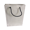 "Shopping Bag made of cotton waste (khadi) fancy paper 11"" x 8"" x 2.5"" set of 10"