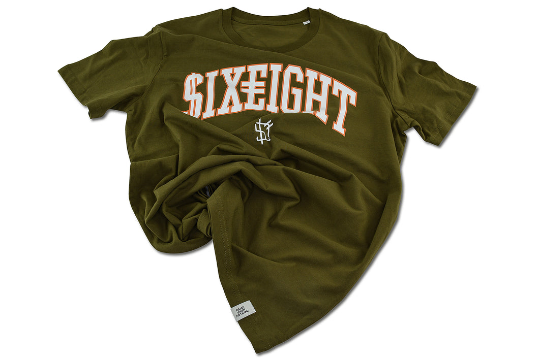 $ix €ight T-Shirt British Khaki Season 1