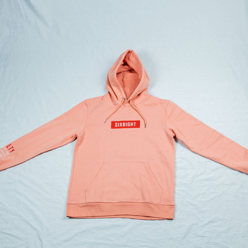 $ix €ight Hoodie Sunset Orange