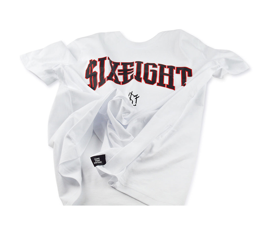 $ix €ight T-Shirt White Season 1